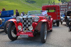 fyra mg morgan plus Royaltyfri Bild