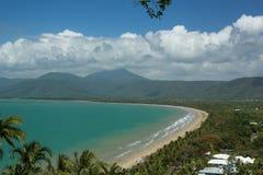 Fyra mil strand Port Douglas Royaltyfri Fotografi