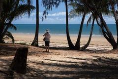 Fyra mil strand, Port Douglas, norr Queensland Fotografering för Bildbyråer