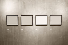 fyra ramar Arkivfoto
