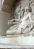 Fyra springbrunnar är en grupp av fyra sena renässansspringbrunnar i Rome Royaltyfri Bild