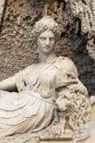 Fyra springbrunnar är en grupp av fyra sena renässansspringbrunnar i Rome, Arkivfoton