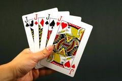 fyra stålar royaltyfri bild