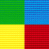Fyra texturer vektor illustrationer