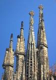 fyra torn Arkivbild