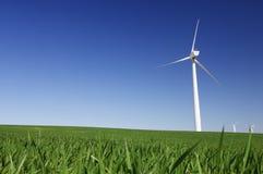 Fyra windmills Arkivbild