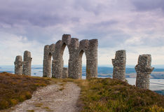Fyrish Monument, Scotland Stock Photography
