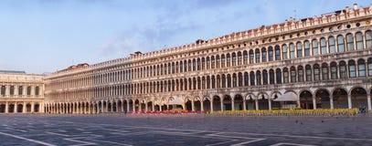 Fyrkant eller piazza San Marco, Venedig, Italien för St Mark ` s arkivfoton