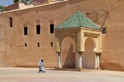 Fyrkant för El Hedim, Meknes, Marocko Royaltyfri Foto