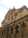 Fyrkant för gammal skola i Oxford royaltyfria foton