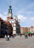 fyrkant för marknadspoland poznan rynek Royaltyfri Fotografi