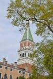 Fyrkant för St Marco i Venedig, Italien Royaltyfri Bild