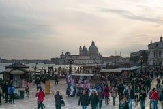 Fyrkant för St Mark ` s, Venedig, Italien arkivfoton