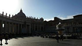 Fyrkant för St Peter ` s arkivfilmer