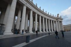 Fyrkant för St Peter ` s, fyrkant för St Peter ` s, gränsmärke, kolonn, struktur, klassisk arkitektur Royaltyfri Foto