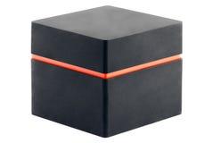 fyrkant för svart ask arkivfoto