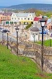 Fyrkant för turk för forner för helgonMaria fyrkant i Chernivtsi Royaltyfri Bild