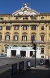Fyrkant Finanze Rome Arkivfoto