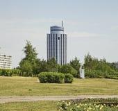 Fyrkant i Naberezhnye Chelny Ryssland Royaltyfria Foton
