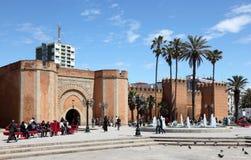 Fyrkant i Rabat, Marocko Royaltyfri Bild