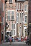 Fyrkant på Aachen, Tyskland Arkivfoto