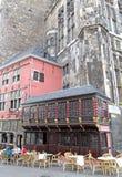 Fyrkant på Aachen, Tyskland Fotografering för Bildbyråer