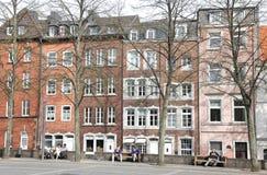 Fyrkant på Aachen, Tyskland Royaltyfri Bild