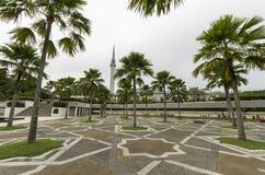 Fyrkant på minaret Arkivfoton