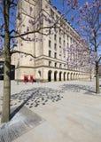 Fyrkant & stad Hall Extension för St Peter ` s Arkivbilder