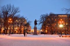 Fyrkanten av konster i St Petersburg royaltyfri foto