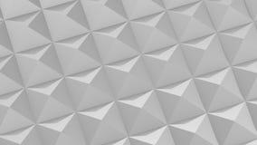 Fyrkanter bildade en våg lager videofilmer