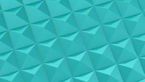 Fyrkanter bildade en våg vektor illustrationer