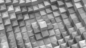 Fyrkanter bildade en våg royaltyfri illustrationer