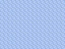 Fyrkanter för Pattern_01_Indigo-bakgrundsblått Royaltyfri Bild