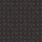 Fyrkanter - mörk brun sömlös modell royaltyfri illustrationer