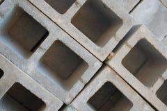 Fyrkanter och rektanglar för konkret kvarter Arkivbilder