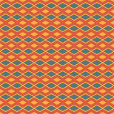 Fyrkantig abstrakt Batikmodellvektor Royaltyfri Fotografi