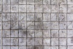 Fyrkantig bakgrund för konkret kvarter Arkivfoto