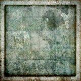 Fyrkantig bakgrund för textur för Grungestenram Royaltyfria Foton