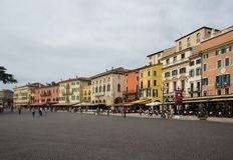 Fyrkantig behå Verona Arkivbilder