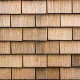 Fyrkantig bild av yttersida av de wood chiperna Royaltyfri Bild