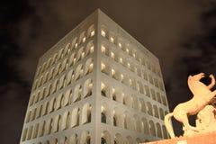 Fyrkantig coliseum Arkivbild