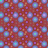 Fyrkantig färgrik modell Arkivbild