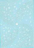 Fyrkantig optisk illusion. Arkivbilder