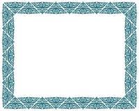 Fyrkantig ram för vektorbildgräns Royaltyfria Foton