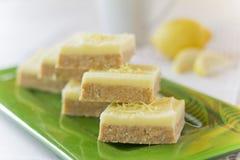 Fyrkantig sidosikt för citron Royaltyfri Bild