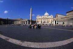 fyrkantig st vatican för peters Royaltyfri Fotografi