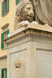 fyrkantig staty Royaltyfri Fotografi