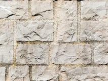 fyrkantig stenvägg Royaltyfri Foto