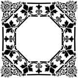 fyrkantig victorian för ram Arkivbild
